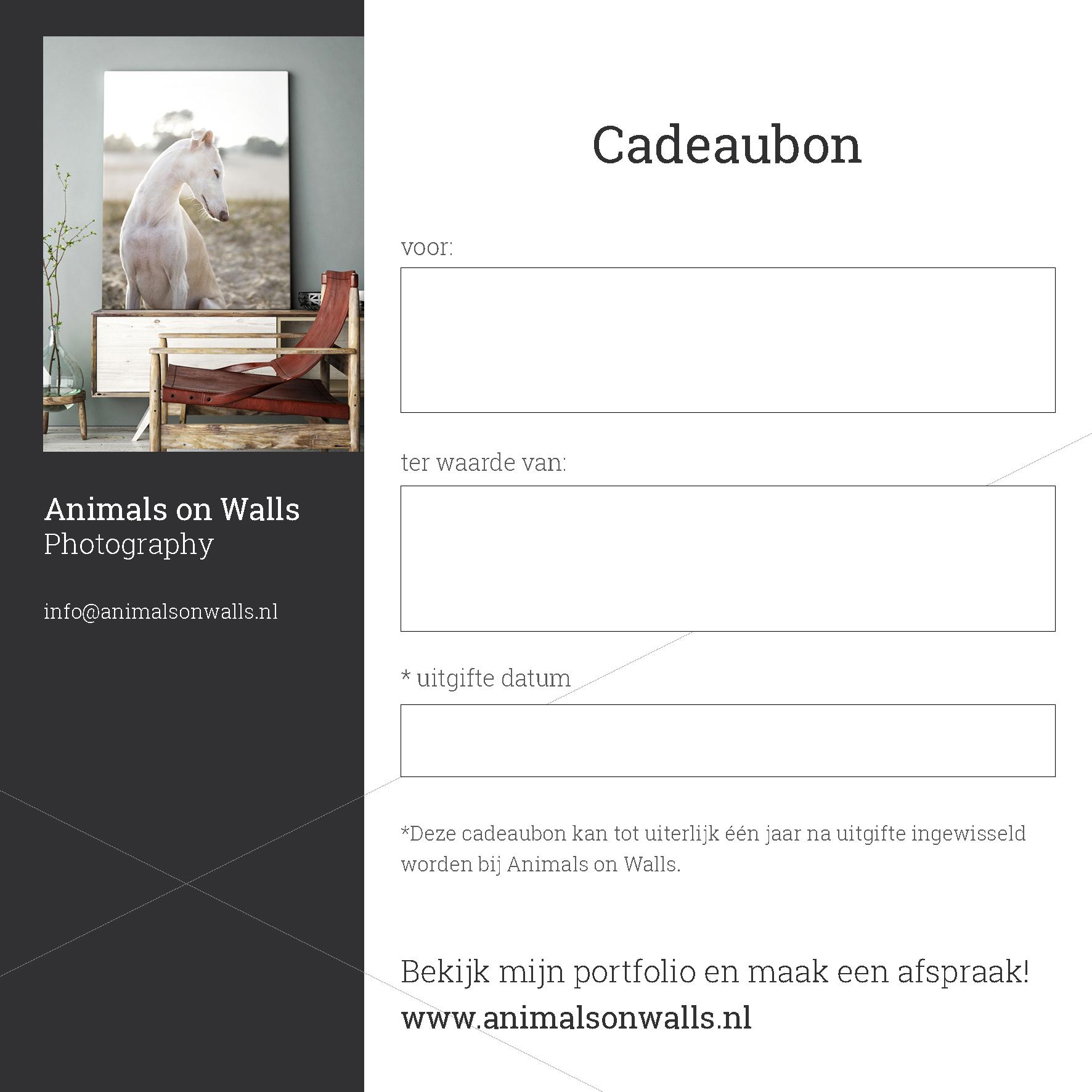Cadeaubon Animals on Walls