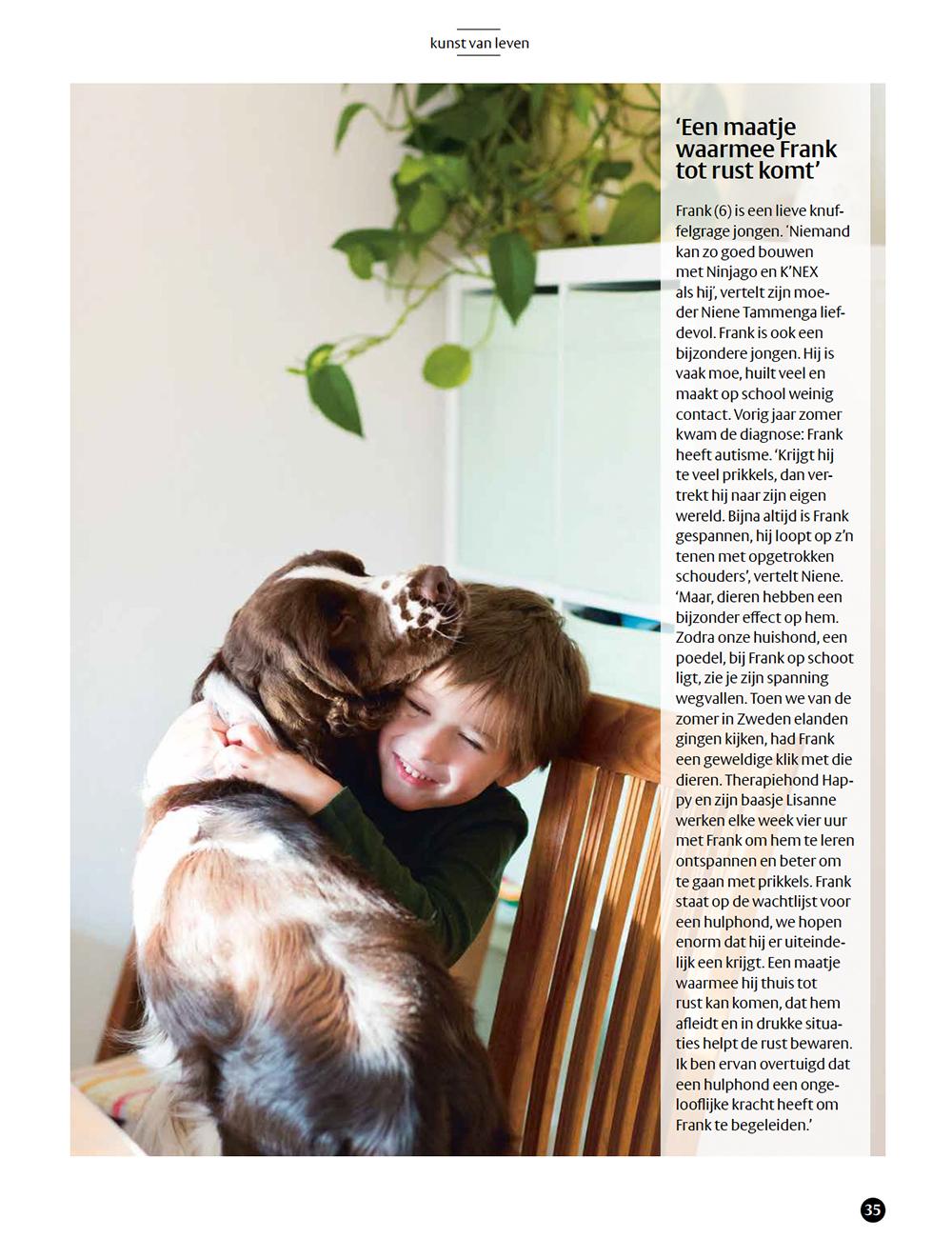 Fotografie magazine Kunst van Leven Careyn