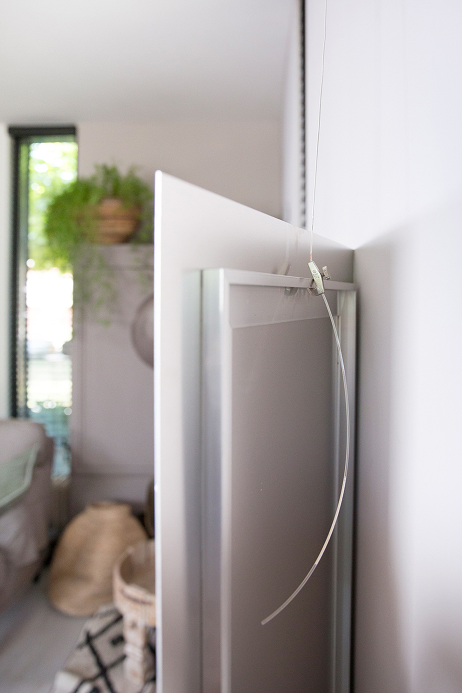 Productfoto print op aluminium windhond Lisa