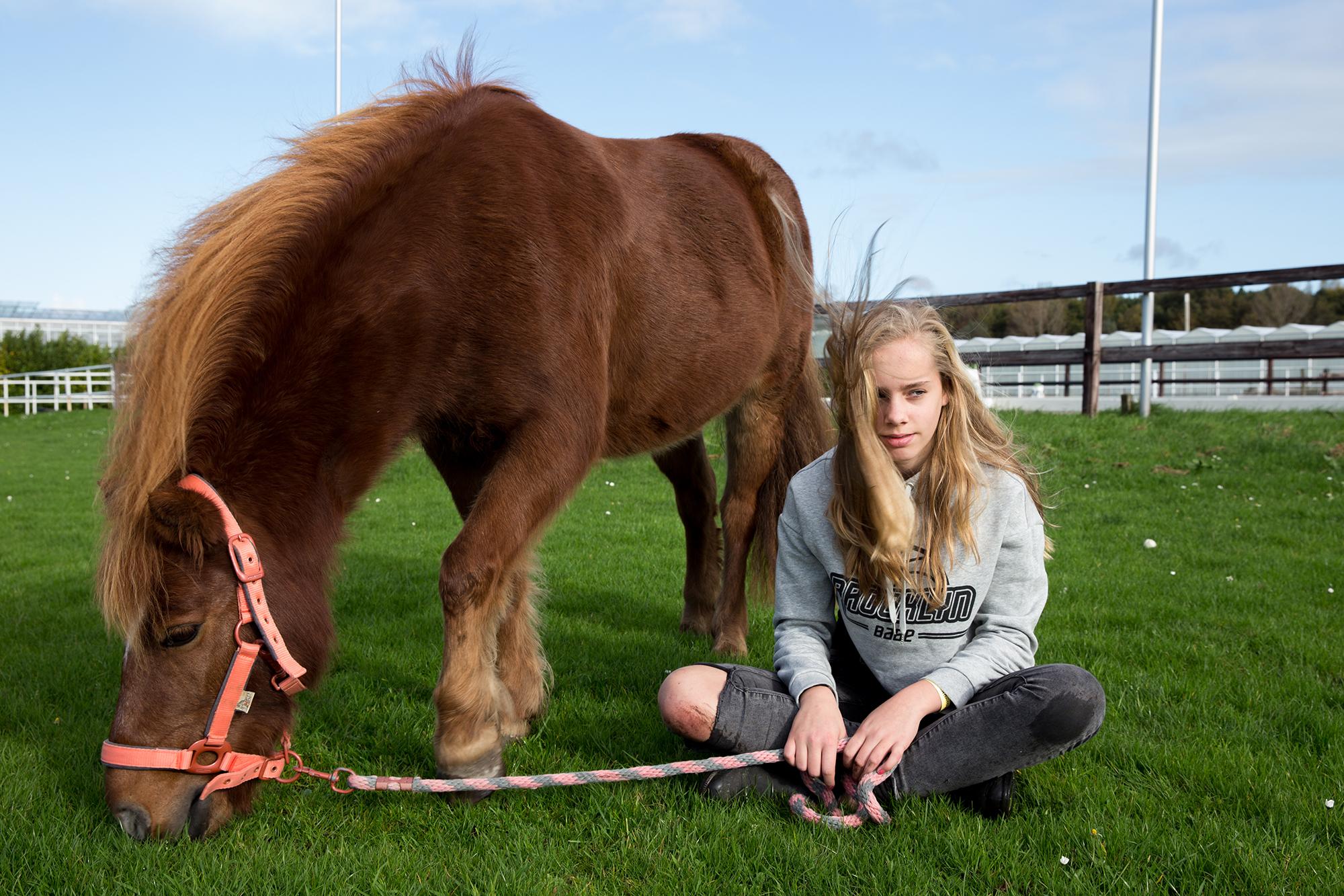 Fotografie portretfotoshoot Senne met paard